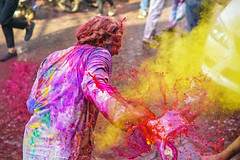 DSC07168 (alfieianni.com) Tags: holi holifestival festival india indian boys people reportage religion travel travelphotography traveling tradition color colors mathura vrindavan baldeo portrait photo kids children boy hindu hinduism