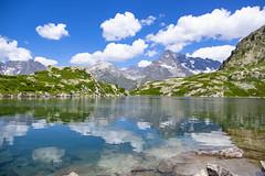 Lac de Pétarel - alt 2090m (flotographe13) Tags: lac waterscape landscape paysage montagne les écrins hautes alpes valgaudemar randonnée