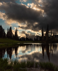 Cloud Lover (Stephanie Sinclair) Tags: mrnp mtrainier nikond810 pnw atmosphere clouds findyourpark lake mountains nikon reflections seattleempress stephaniesinclairphotography trees zeiss