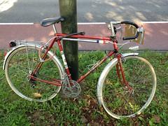 Peugeot G50? J8? G45? Who knows? (Tompouce6) Tags: peugeotracefiets peugeotbicycle peugeotracingbicycle peugeotbicyclette peugeotvelo racefiets racingbicycle vélodecourse vélodecoursepeugeot