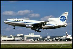 N508PA  Pan Am - Pan American World Airways (Bob Garrard) Tags: lockheed l1011 tristar 500 n508pa pan am american world airways clipper bald eagle mia ze 704 royal air force