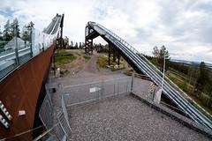 Ski jumping (Håkan Dahlström) Tags: 2018 architecture backhoppning dalarna falun jump lugnet photography ski sweden dalarnaslän xt1 f10 1400sek 8mm uncropped 46724082018135141 järlindenbojsenburg se