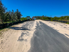 Beach Road leading to the beach, Noosa North Shore (Andy Hay) Tags: 2018 australia beach beachroad firstcutting lightroom noosanorthshore queensland sand sea au