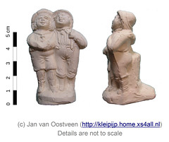 Twin (pipe clay) (janvanoostveen) Tags: pipe clay figurine twin germany westerwald whistle