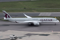Qatar Airways Airbus 350-941 A7-ALD (c/n 0010) (Manfred Saitz) Tags: vienna international airport schwechat vie loww flughafen wien qatar airways airbus 350900 a509 359 a7ald a7reg