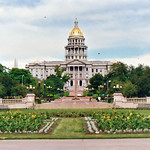 Colorado State Capitol from Civic Center, Denver thumbnail