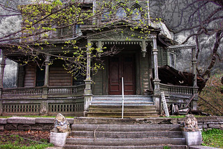 Palatine Bridge - New York ~ Webster Wagner House ~ Second Empire  Architecture - Haunted House