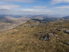 Taking it all in - Beinn Ime 2018 (GOR44Photographic@Gmail.com) Tags: beinnime beinndubhchraig benoss benlui arrocharalps argyll person scotland gor44 hills mountains munro rocks grass cloud olympus omdem5 1240mmf28