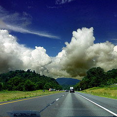 Interstate 81, Tennessee, USA (pom'.) Tags: panasonicdmctz30 july 2018 mountain forest tennessee roadpicture roadtrip sky clouds highway road usa unitedstatesofamerica fromamovingvehicle northamerica america interstate81 kingsport 100 200 americanwayoflife 300 appalachianmountains appalachia 400
