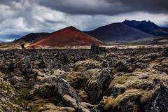 Berserkjahraun (Jón Óskar.) Tags: berserkjahraun lava mountains moss snæfellsnes iceland jónóskar