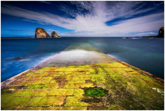 It Appiers! (Augmented Reality Images (Getty Contributor)) Tags: nisifilters benro brough caithness canon clouds coastline jetty landscape longexposure rocks scotland seascape seastack summer water waves