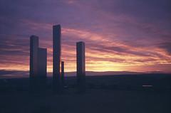 (xbacksteinx) Tags: rollei35 sonnar40mm28 35mm analog vintage fujisensia200 e6 expired slide film autumn sunrise germany mood moody