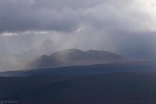 Hill in the clouds - Alaska
