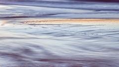 Abendlicht im Watt (blichb) Tags: 2018 deutschland nordsee schleswigholstein sonya7rii sylt wennigstedt zeiss blichb winter watt unscharf bewegungsunschärfe abendlicht licht wasser abstrakt haiku