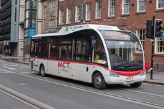 MCT Travel YJ13HLA (Mike McNiven) Tags: mcttravel manchester communitytransport albertsquare princessstreet optare solo sr hybrid