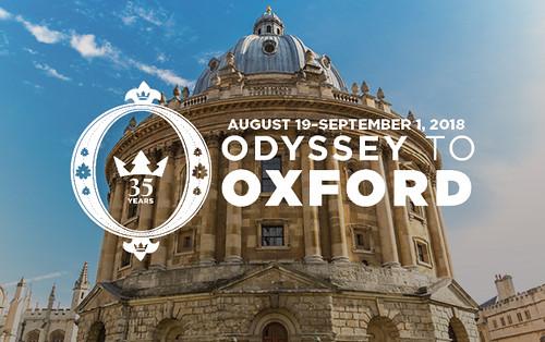 2018 Odyssey to Oxford