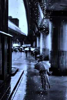 Rain in Taipei, Taiwan