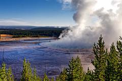 Grand Prismatic Spring (lsalcedo) Tags: grandprismaticspring wyoming geology caldera supervolcano