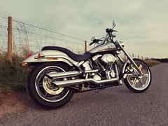 New Wheels.. (Harleynik Rides Again.) Tags: harleynikridesagain phoneimage deuce 2003 100th anniversary harleydavidson
