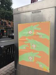9/13/18. Downtown Stroudsburg, PA (Stroudsburg PA Street Art) Tags: stroudsburggraffiti originsgallerystroudsburg artpasteup wheatpasteart streetartproject stroudsburgstreetart stroudsburgart mainstreetstroudsburgpa poconosart stroudsburgpastreetart