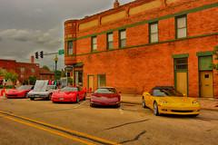 Corvette Row (kendoman26) Tags: hdr nikhdrefexpro2 nikon nikond7100 niksoftware tokinaatx1228prodx tokina tokina1228 chevrolet chevroletcorvette corvette morrisillinois morriscruisenight september2018morriscruisenight