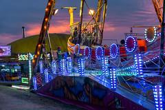Festa Major Montornès del Vallès 2018 (Jorge Franganillo) Tags: fairground fairgrounds parquedeatracciones lunapark amusementpark noche dusk twilight lights montornèsdelvallès barcelona cataluña catalunya españa spain feria fair