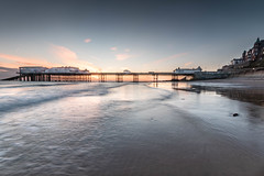 Blue Dawn at Cromer (andybam1955) Tags: bluesea landscape dawn cromerpier pier coastal seascape sky northnorfolk rural cromer norfolk sea