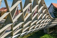 Passerelle du Graoully (Metz, France)-103 (MMARCZYK) Tags: metz grandest france moselle 57 parc de la seille pont ost bridge passerelle kosmi terrell ouvrage dart ingenierie paysage