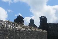Dunluce Castle (Tony Pulokas) Tags: dunlucecastle ireland northernireland uk tilt shift blur summer europe ruins antrim coantrim countyantrim castle