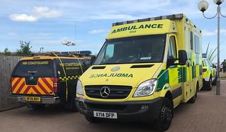 HM Coastguard & East of England Ambulance