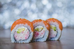 Blur bokeh close up - Credit to https://homegets.com/ (davidstewartgets) Tags: blur bokeh closeup cuisine delicious depth field dish epicure focus food fresh freshness japanese rice salmon seafood sushi tasty yummy