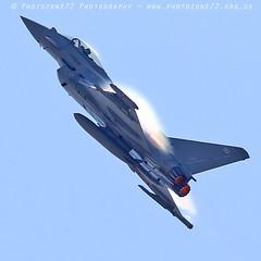 0173 Typhoon (photozone72) Tags: yeovilton yeoviltonairday airshows aircraft airshow aviation jets canon canon7dmk2 canon100400f4556lii 7dmk2 raf typhoon raftyphoondisplay eurofighter