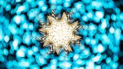Flu.  261.365 (FadeToBlackLP) Tags: lightpainting lightart longexposure bokeh blue cold orange hot warm geometric symmetry camerarotation icm intentionalcameramovement