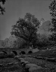 Wewelsburg-19-09-2018-001 (Joerg Alfons) Tags: 4x5 wewelsburg largeformat shenhao castle drought riverbed stonebridge