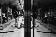 ACA_440 (Andy C. Arciga) Tags: monochrome monochromephotography mirrorless metrolife metrostation blackandwhite blackandwhitephotography fujifilm fujifilmx100t reflection contrast isonoise noise