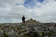 First Summit Selfie (steve_whitmarsh) Tags: aberdeenshire scotland scottishhighlands highlands mountain hills munro steve rocks summit carnantuirc topic