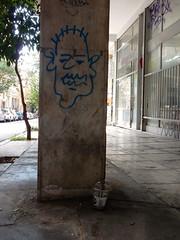 Column (aestheticsofcrisis) Tags: street art urban intervention streetart urbanart guerillaart graffiti postgraffiti athens athen attiki athina greek greece europe eu exarcheia exarchia