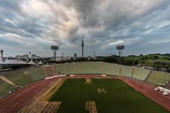 olympiaturm (dadiolli) Tags: münchen bayern deutschland de olympiapark olympiaturm olympiastadion munich germany