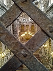 From the enclosure of the nuns (Umberto Luparelli) Tags: palermo baroque
