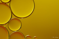 OIL AND WATER (Ana Vanesa Naranjo) Tags: oil water background abstract macro amazing circle bright drops photography round drop cell bubbles yellow colorful nature blue red art pattern texture white creative backgrounds