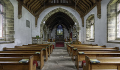 Central Aisle, St. Mary's Church, Kettlewell. (Durham George) Tags: mary kettlewell holy church cathedral kirk