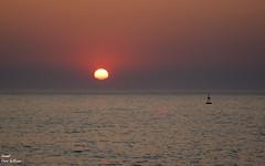 Puesta de son en a guarda AG (Ismael Owen Sullivan) Tags: sun sea sky sunset mar ocean oceano atlantico atlantic d5300 digital foto fotografia españa europa europe travel sol landscape horizont horizonte galicia pontevedra