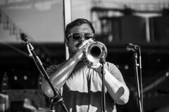 DSC_1948 (GRubio78) Tags: concert live band empirestrikesbrass newbelgium asheville nc 828 nikon d7500 bw brass brewery concierto brassterpiecetheater