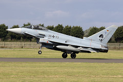 30+73_EurofighterEF2000_Luftwaffe_CGY_Img01 (Tony Osborne - Rotorfocus) Tags: eurofighter ef2000 airbus eads luftwaffe german air force germany exercise cobra warrior 2018 raf coningsby