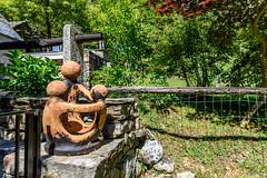 Valle Verzasca 2018 - Sonogno (karlheinz klingbeil) Tags: sculpture suisse swissalps schweiz alps switzerland skulptur sonogno alpen tessin ch