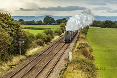 Mainline_2018_09_08_017 (Phil_the_photter) Tags: steam steamengine steamloco steamrailway 60009 unionofsouthafrica a4 staffordshire stableford batesmilllane