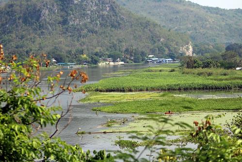 River Kwai, Kanchanaburi, Thailand 2018
