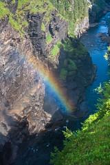 IMG_4792-1 (Andre56154) Tags: schweden sweden sverige wasser water regenbogen rainbow landscape canyon schlucht