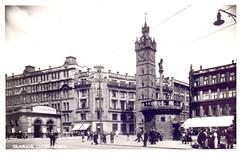 Glasgow Cross. (Paris-Roubaix) Tags: antique postcards scotland vintage scottish glasgow cross mercat tolbooth argyle street train station eldorado wine