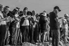 DSC_1646 (Dan_lazar) Tags: charlesclore telaviv israel beach shofar roshhashana jews sea sunset prayer bw bnw blackandwhite orthodox